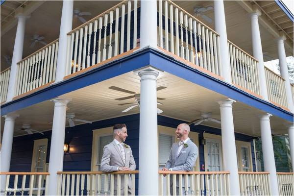 Brian & Micheal: The Veranda At Thornton Park