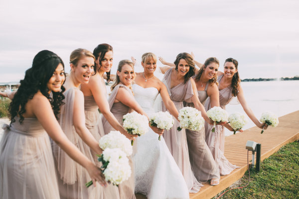 Lorilyn & Bridesmaids